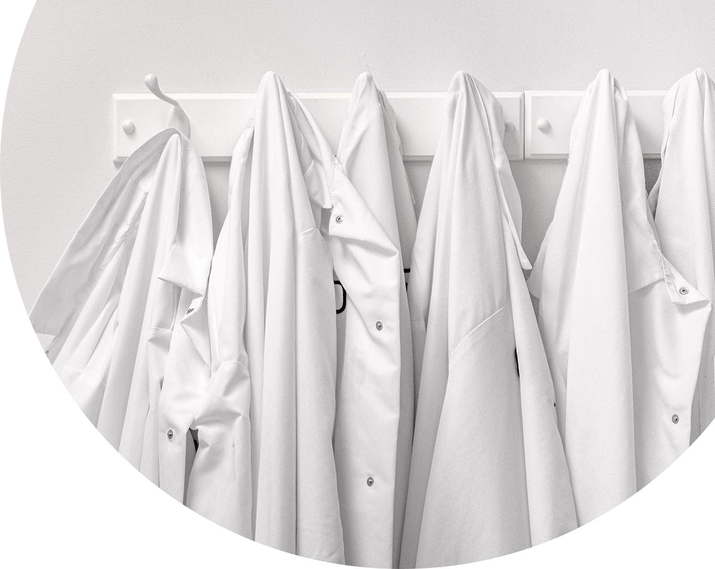 Curia lab coats